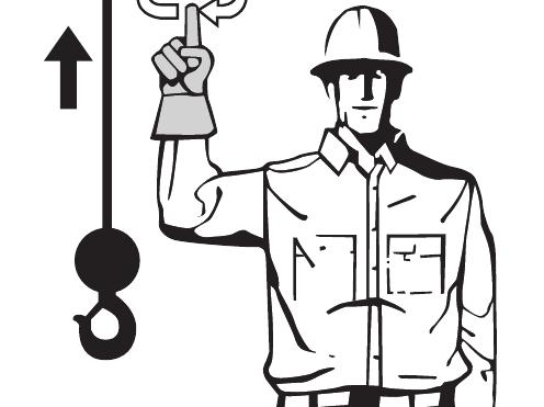 Mobile Crane Signal Person