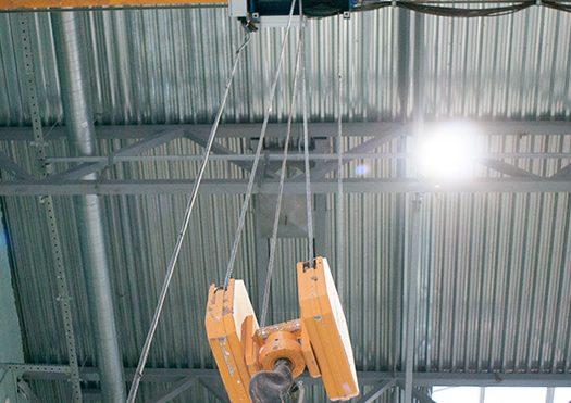 Overhead Crane Signal Person